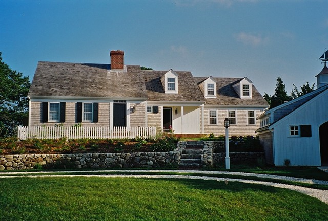 Fine Homebuilding Magazine Exterior Traditional with Americana Barn Garage Cape Cod House Circular Driveway Cottage