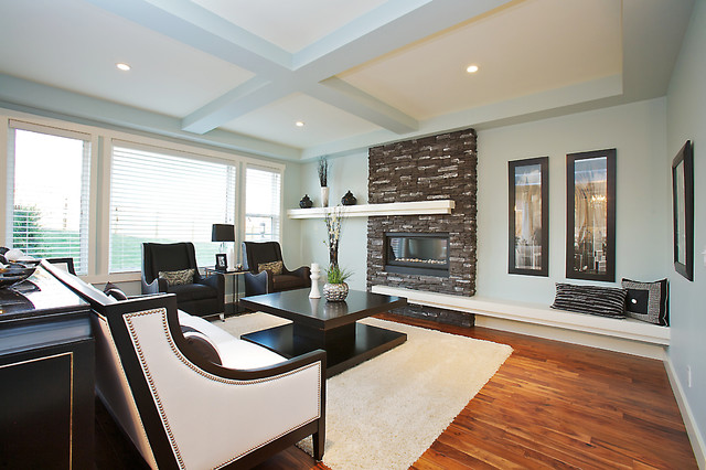 Fireplace Mantel Shelf Living Room Eclectic with Area Rug Armchairs Ceiling Lights Fireplace Fireplace Mantel Floating