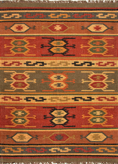 Flat Weave Rugwith 2