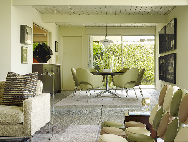 florence knoll Living Room Midcentury with CategoryLiving RoomStyleMidcenturyLocationSan Francisco