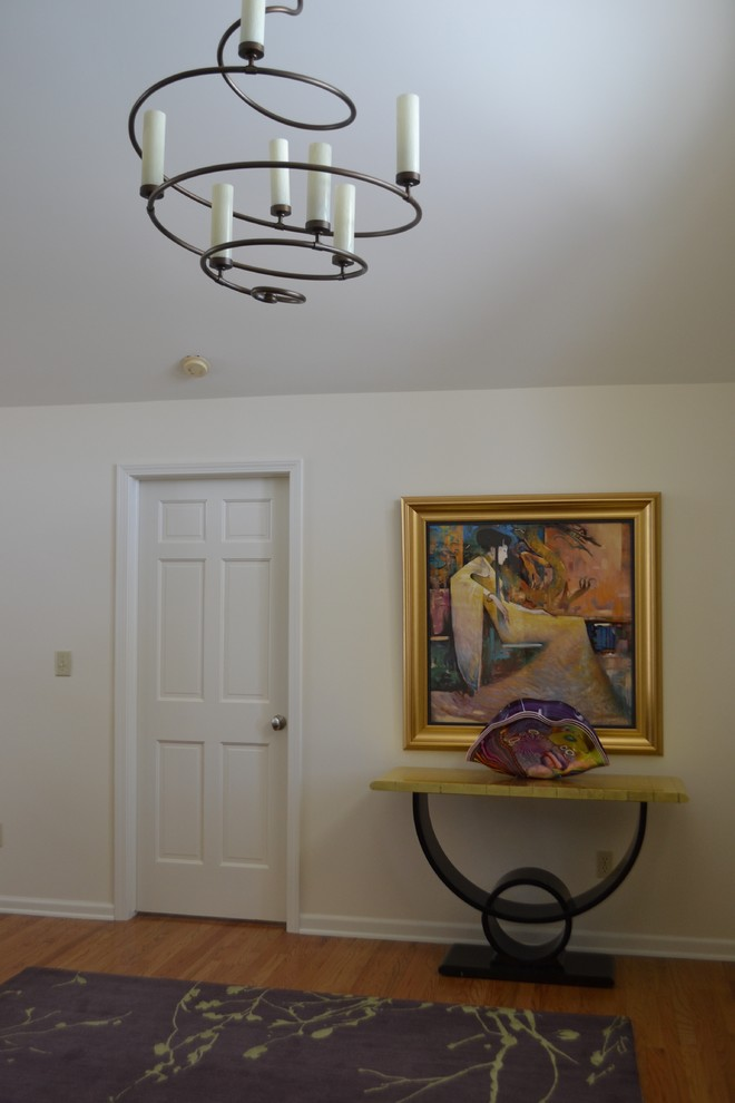 Foyer Chandeliers Entry Contemporary with Contemporary Artwork Contemporary Design Custom Chandelier Hammerton