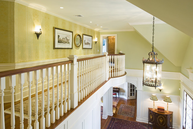 Foyer Chandeliers Hall Traditional with Agra Rug Architectural Prints Chandelier Damask Entryway Faux Painted
