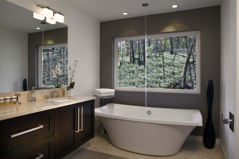 Freestanding Tubs Bathroom Modern with Bath Ceiling Fill Fixture Free Standing Tub Master Bat