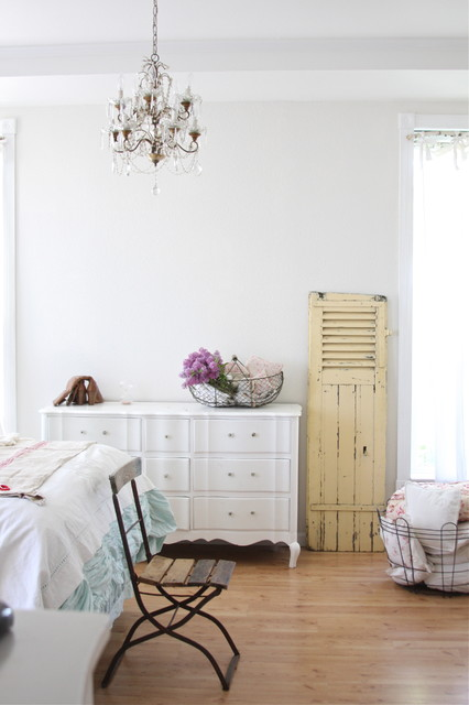 French Bistro Chairs Bedroom Shabby Chic with Cafe Chair Ceiling Lighting Chandelier Chest of Drawers Dresser