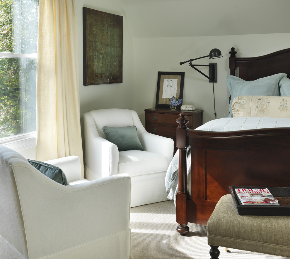 French Provincial Bedroom Furniture Bedroom Traditional with Bedside Table Blue and Brown Curtains Drapes