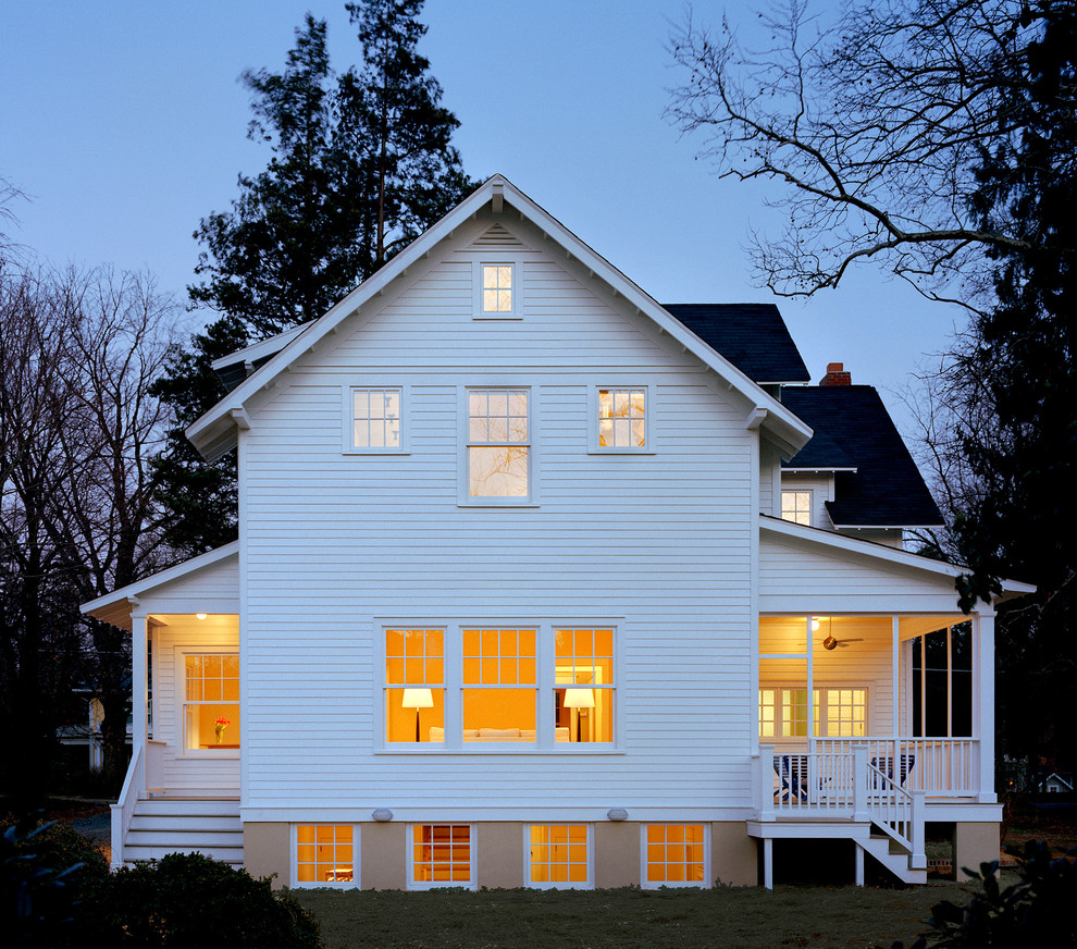 Gable Vents Exterior Traditional with Addition Bungalow Craftsman Craftsman Style Dormer Eaves