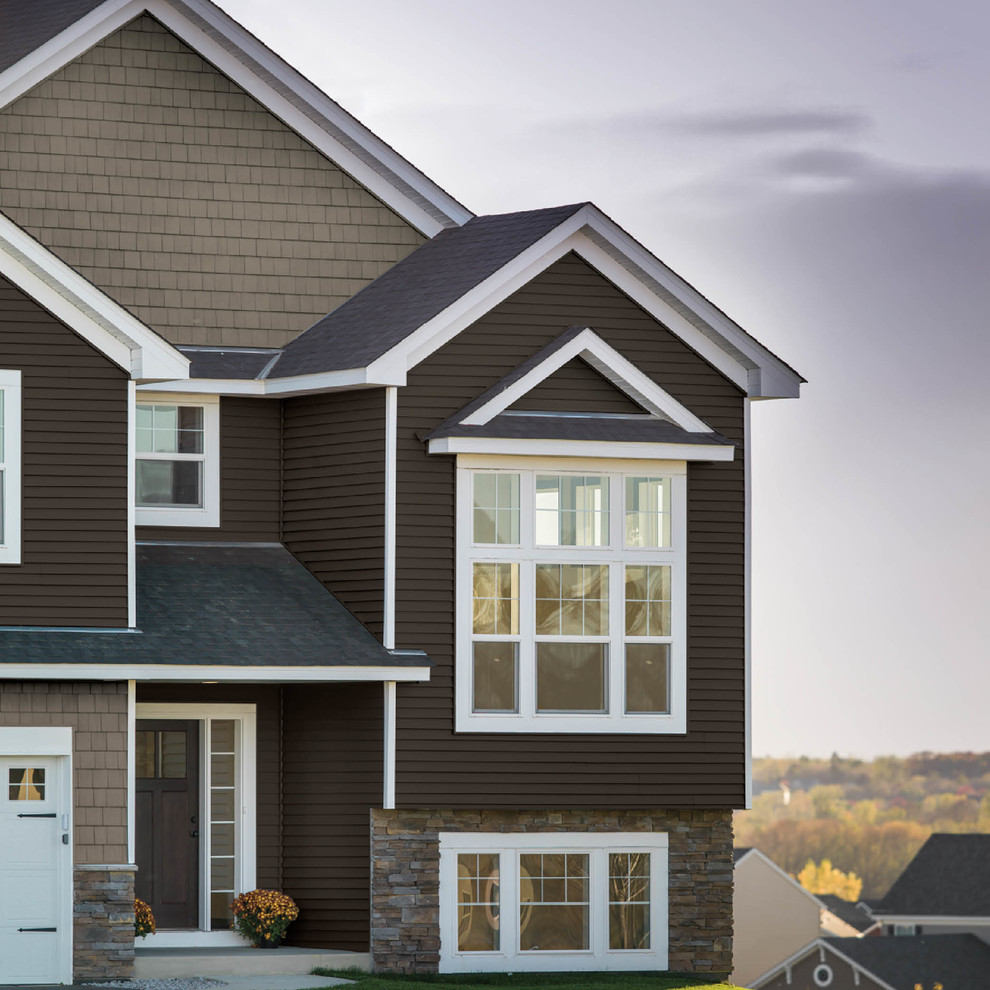 Georgia Pacific Vinyl Siding Exterior Traditional With