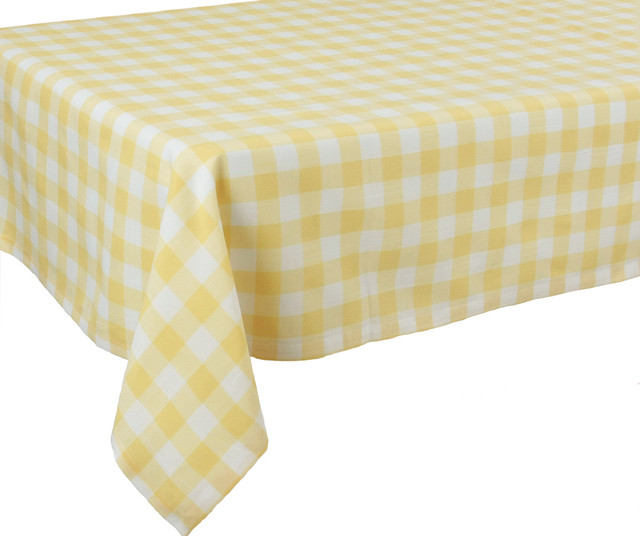 Gingham Tablecloth With Blue Linens Colorful Table Linens Easy Care  Entertaining Everyday