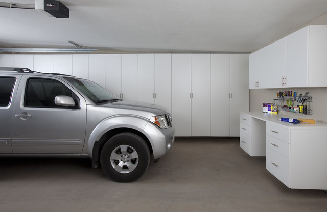 Gladiator Garage Storage Garage and Shed Contemporary with Built in Cabinets Cabinet Cabinetry Cabinets Car Garage Chip Chip