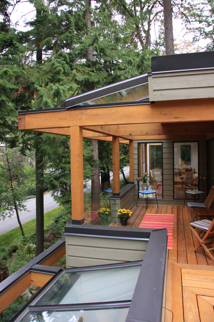 Glass Deck Railing Deck Contemporary with Balcony Covered Patio Deck Entry Exterior Seating Glass Handrail1
