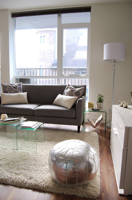 Glass Nesting Tables Living Room Contemporary with Categoryliving Roomstylecontemporarylocationvancouver