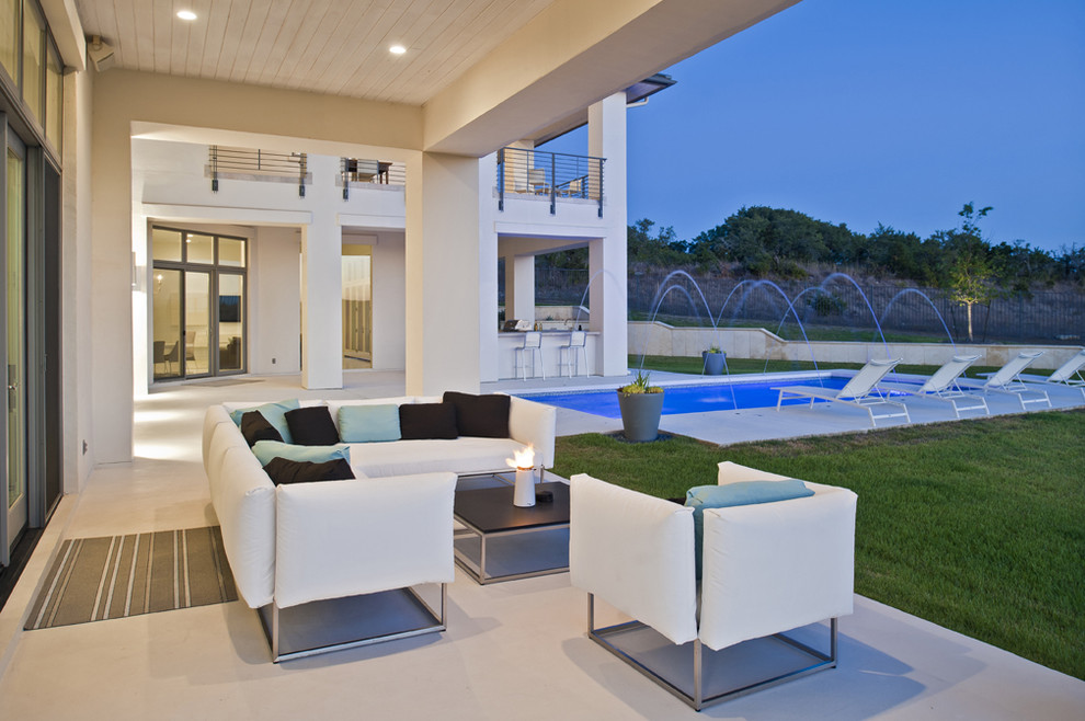gloster furniture Patio Contemporary with bar stools coastal contemporary Hill Country lounge