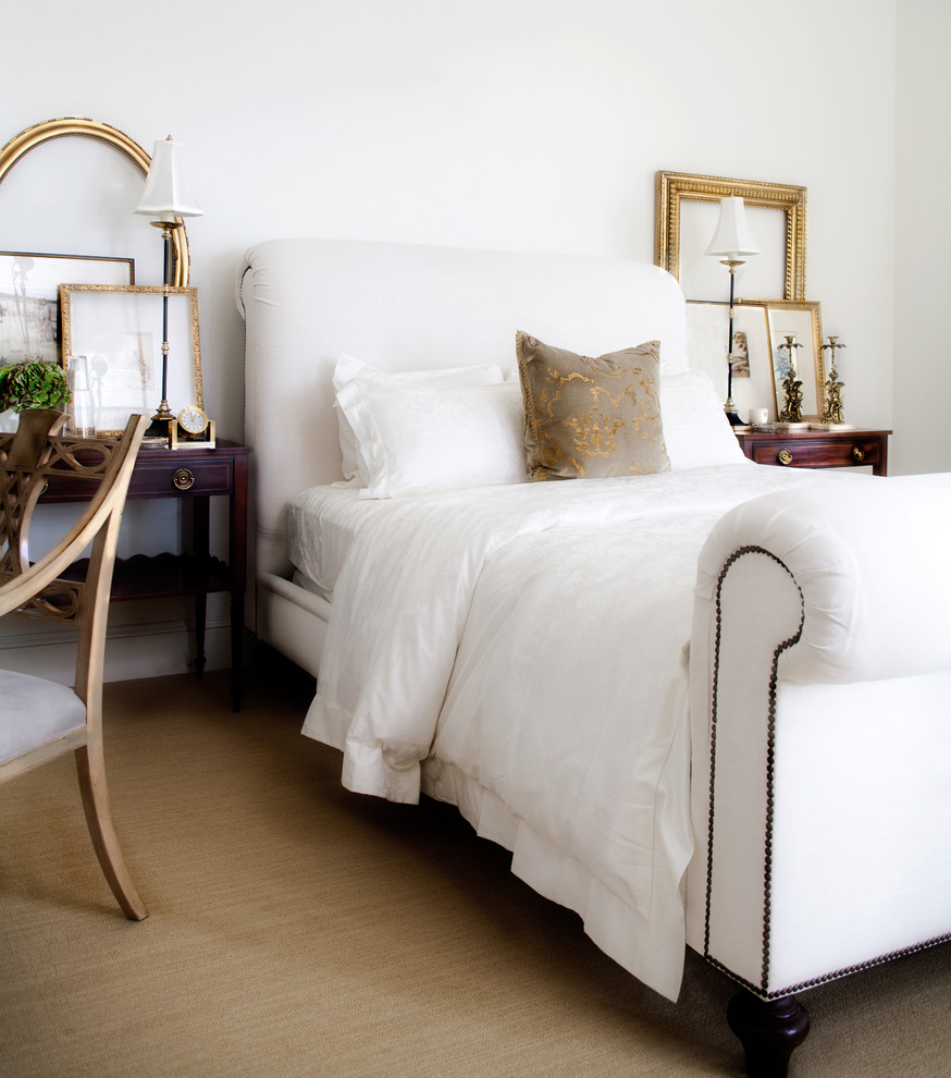 Gold Nightstand Bedroom Traditional with Bed Pillows Bedside Table Decorative Pillows Gold