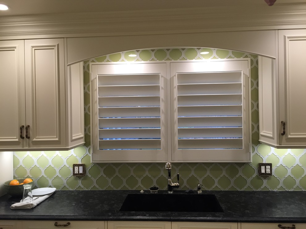 Awesome Graber Shutters Kitchen Farmhouse With Aluminum Shutters Blinds Castle Rock  Colorado Plantation