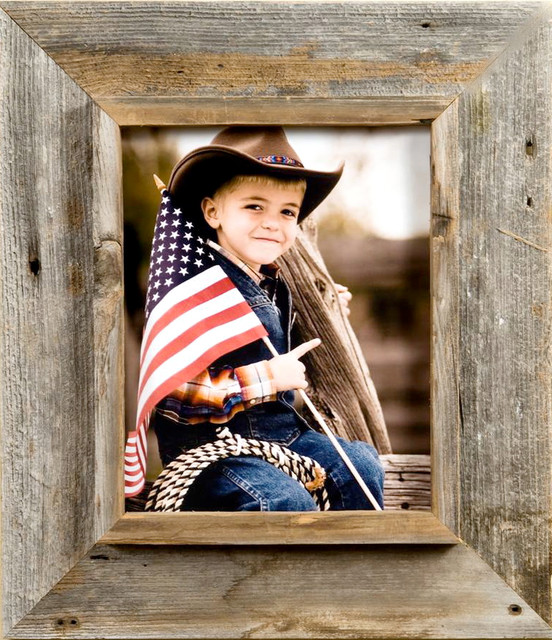Grandpa Picture Frame with 3 Inch Wide 5x20 Western Picture Frames Western Rustic
