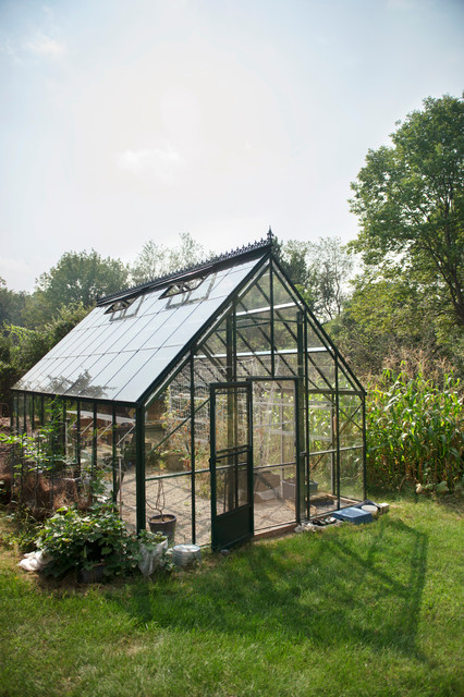 green house kits Garage And Shed Traditional with corn decorative roof ridge decorations door finials gardening glass