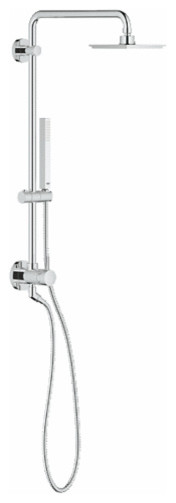 Grohe Shower Head with 26 124 Faucet Grohe Retro Fit Shower System