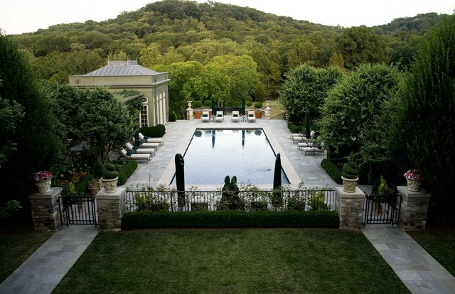 guardian pool fence Pool Traditional with Exterior Landscape Patio pool house