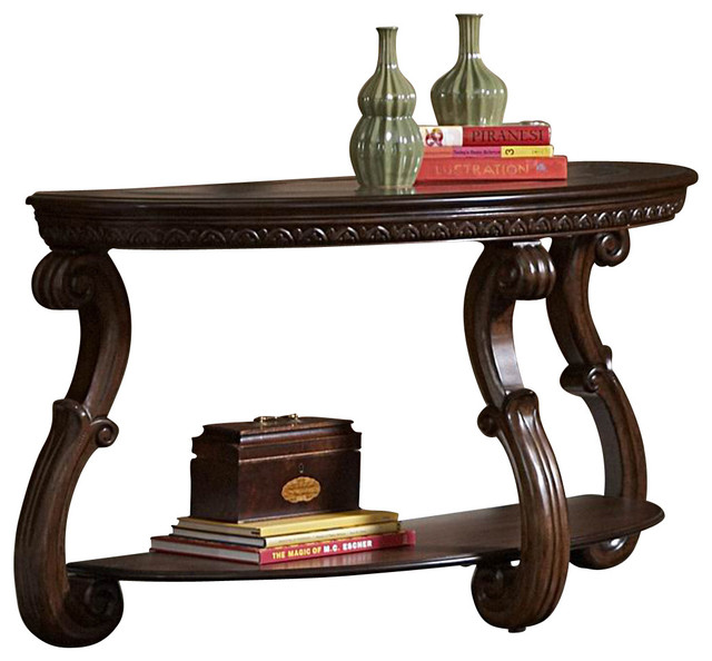 Half Moon Console Tablewith 12