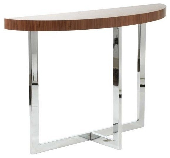 Half Moon Console Tablewith 14