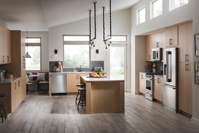 Hampton Bay Kitchen Cabinets Kitchen Contemporarywith Categorykitchenstylecontemporary