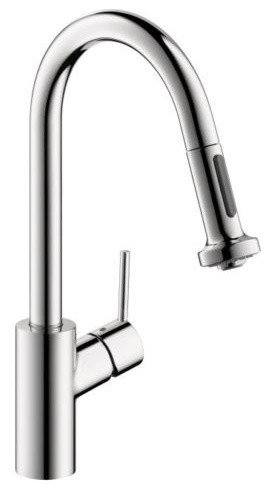 Hansgrohe Kitchen Faucets with Chrome Hansgrohe Higharc Kitchen Faucet Talis 1