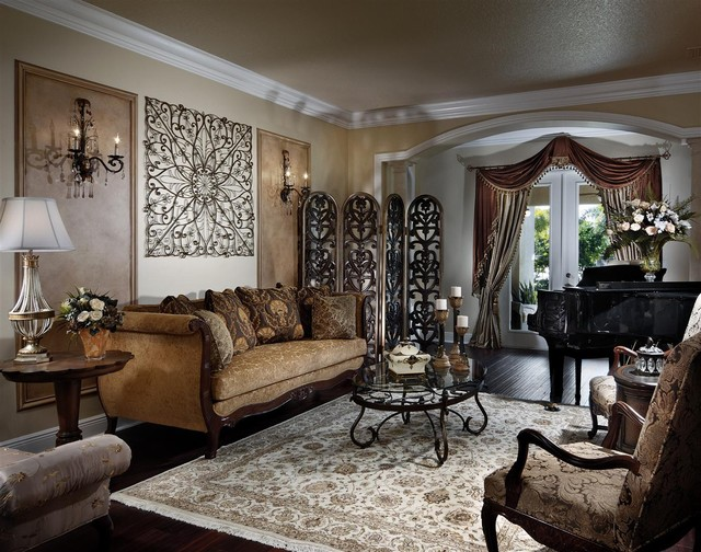 havertys sofa Living Room Victorian with area rug crown molding curtains dark floor decorative pillows