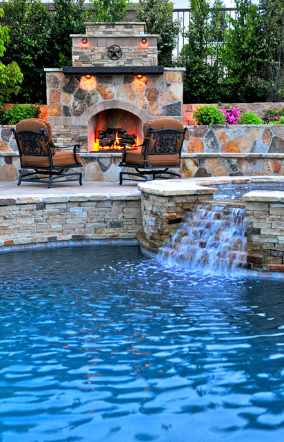 hayward pool pumps Pool Mediterranean with hot tub Landscape outdoor chair outdoor fireplace patio furniture