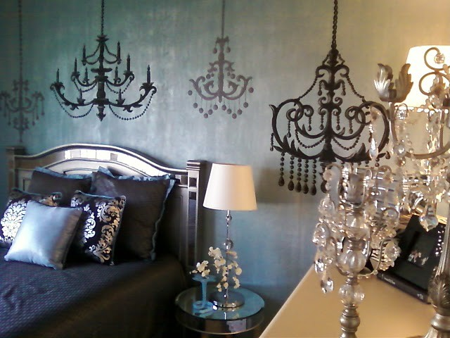 Hayworth Collection Bedroom Traditional with Elegant Bedroom Faux Accent Wall Glam Teen