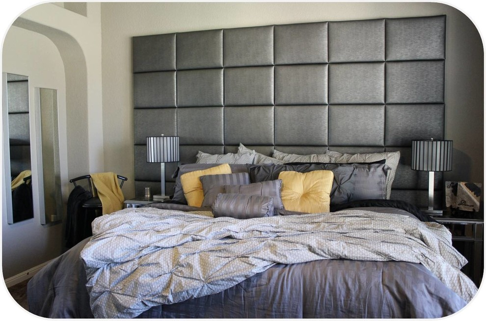 Heady Bed Bedroom Contemporary with Designer Bedroom Designer Headboard King Headboard Padded