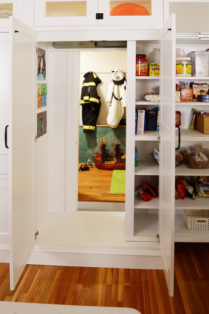 hidden compartment furniture Kitchen Traditional with amazing idea fun kids space glass cabinet doors hidden
