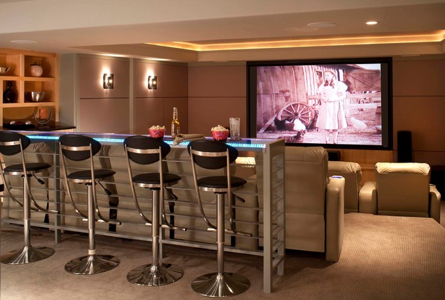 Home Depot Bar Stools Home Theater Contemporary With Addition Bar  Seating Ceiling Design Contemporary Cove Lighting Glass
