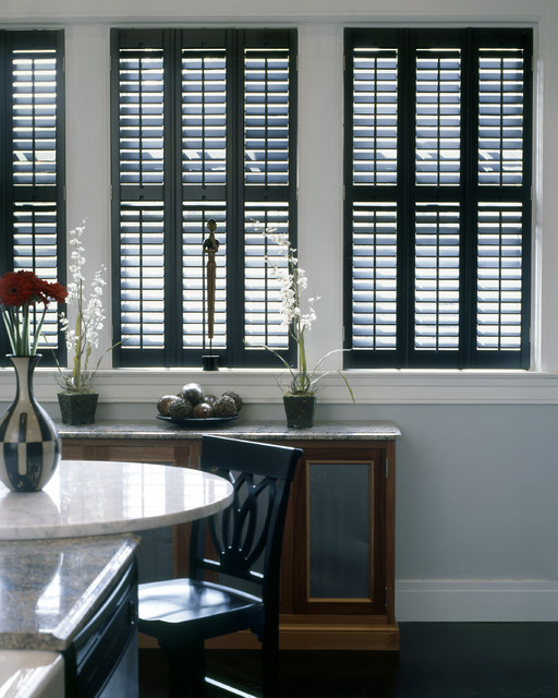 Home Depot Plantation Shutters Dining Room Traditional With Black Shutters  Blinds Composite Shutters Drapery Faux Shutters Interior