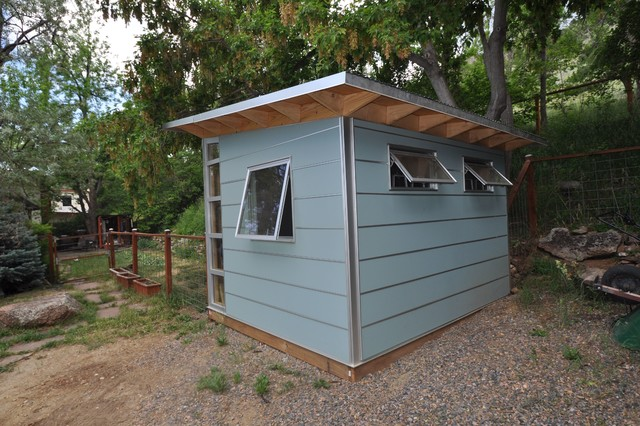 Home Depot Window Coverings Garage and Shed Contemporary with Awning Windows Backyard Shed Blue Eaves Garden Shed Gray