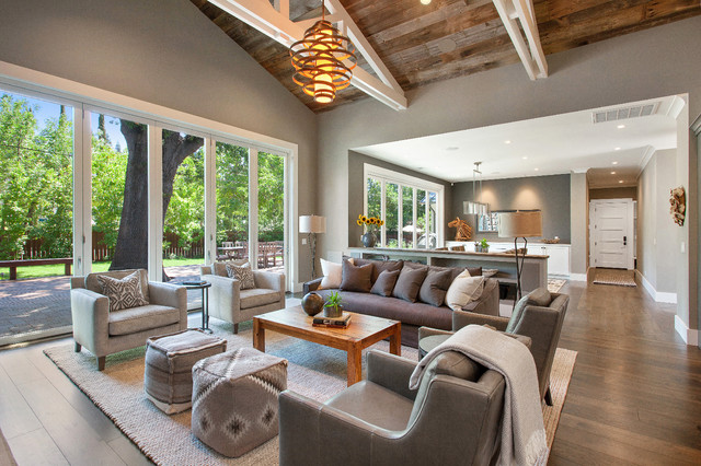 Hooker Furniture Reviews Living Room Farmhouse with Area Rug Armchairs Barnwood Barnwood Ceiling Coffee Table Corbett