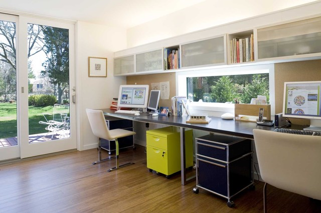 Horizontal File Cabinet Home Office Modern with Bamboo Floor Bamboo Flooring Book Shelf Built in Storage