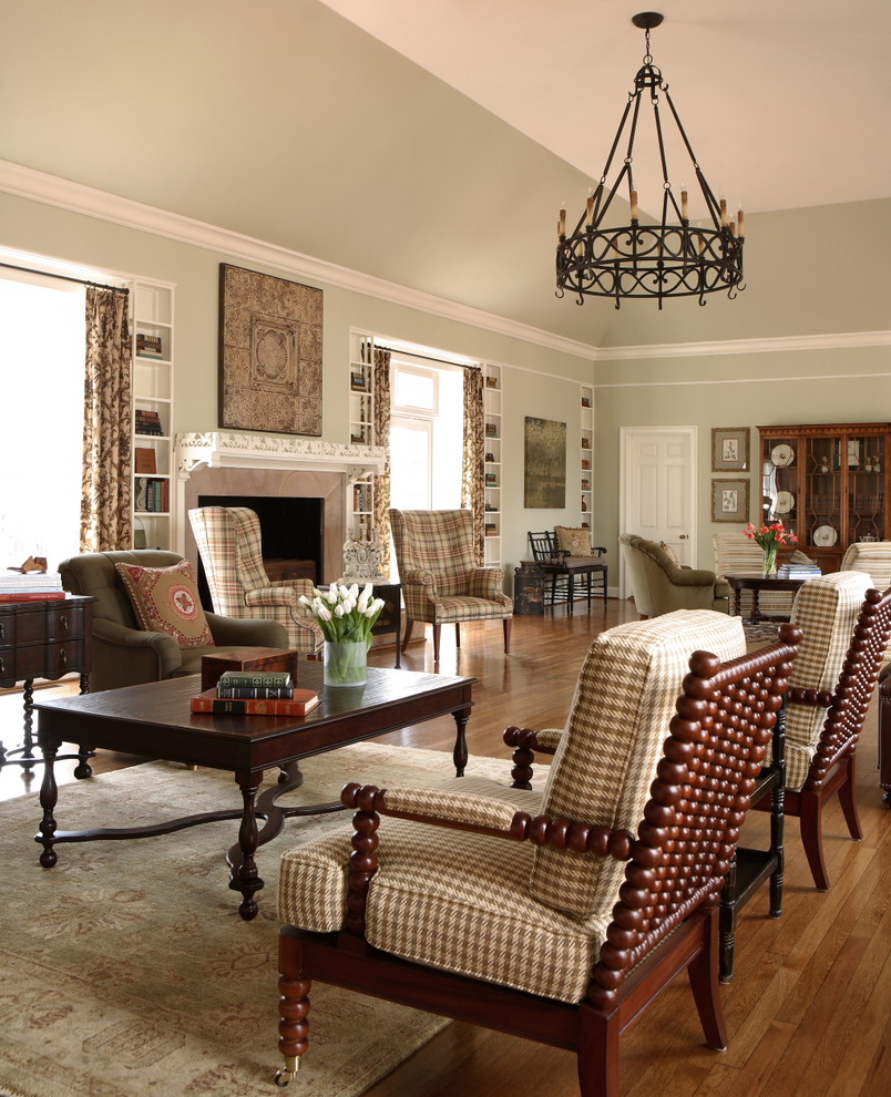 Houndstooth Rug Living Room Traditional with Accent Chairs Area Rug Built in Shelves