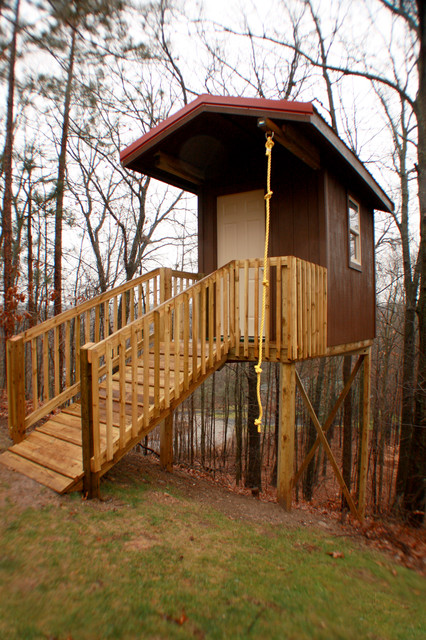 How to Build a Wheelchair Ramp Kids Eclectic with Backyard Play Cabin Play House Tree House Wood