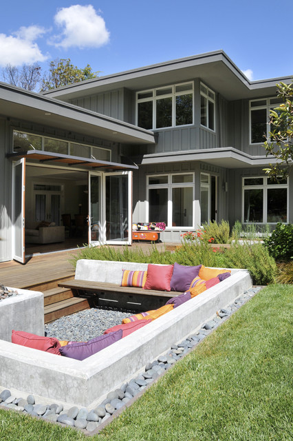 Hybrid Mattress Reviews Patio Contemporary with Awning Board and Batten Built in Bench Built In