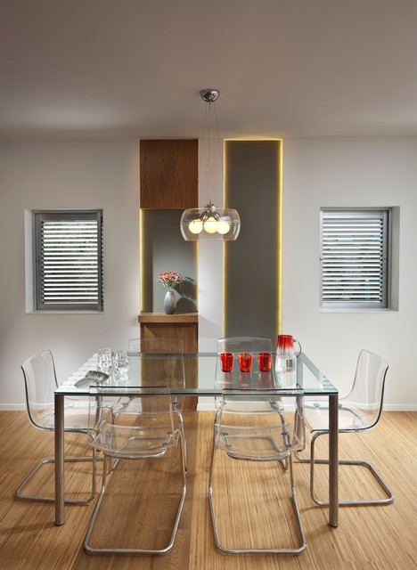 Ikea Conference Table Dining Room Modern With Glass Furniture Light Fixture Nook