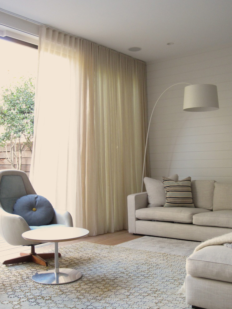 Ikea Curtain Panels Living Room Contemporary with Armchair Beadboard Bright Floor Lamp Rug Side