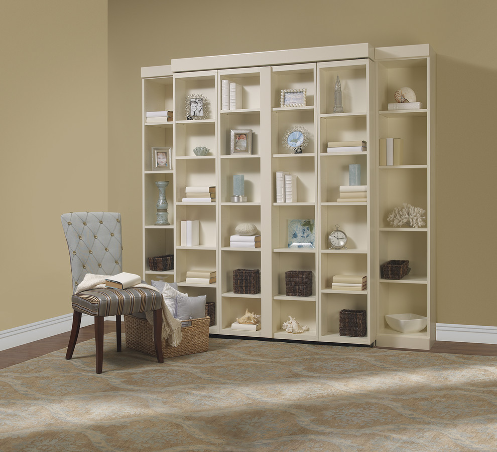 ikea murphy bed Living Room Contemporary with bookshelf bed disappearing bed disappearing beds hidden