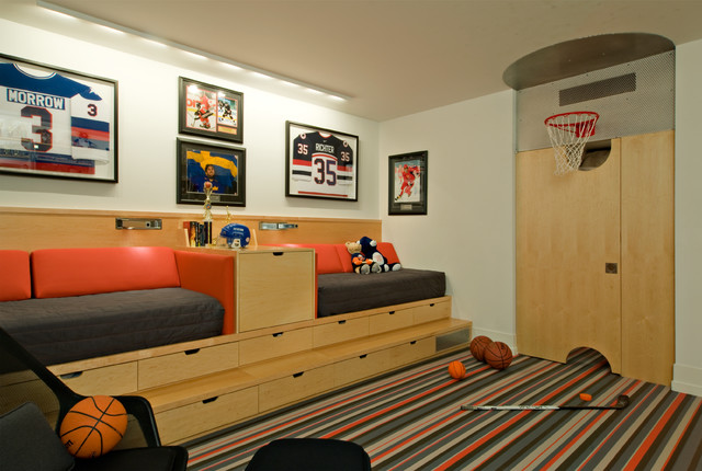 in ground basketball hoop Kids Contemporary with basketball bolon boys room built -n bed contemporary drawers