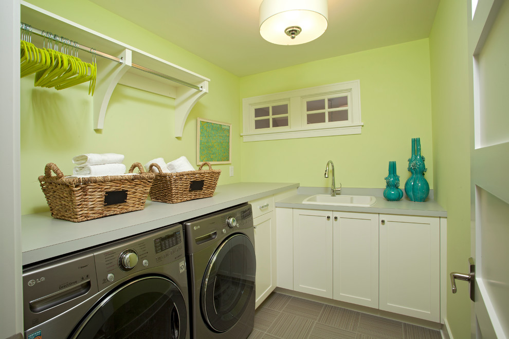 Iron Shelf Brackets Laundry Room Beach with Built Ins Drum Pendant Drying Rack Front Loading Washer