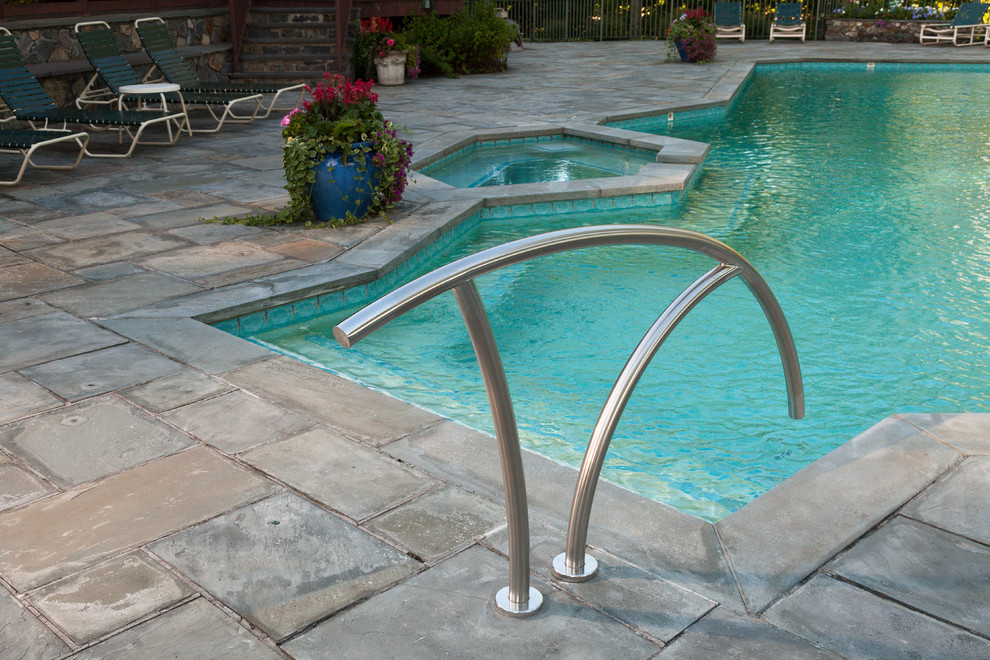 Iron Stair Railing Poolwith Categorypool