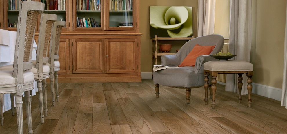 Ivc Flooring Dining Room Traditional with Grey Chair Hardwood Flooring