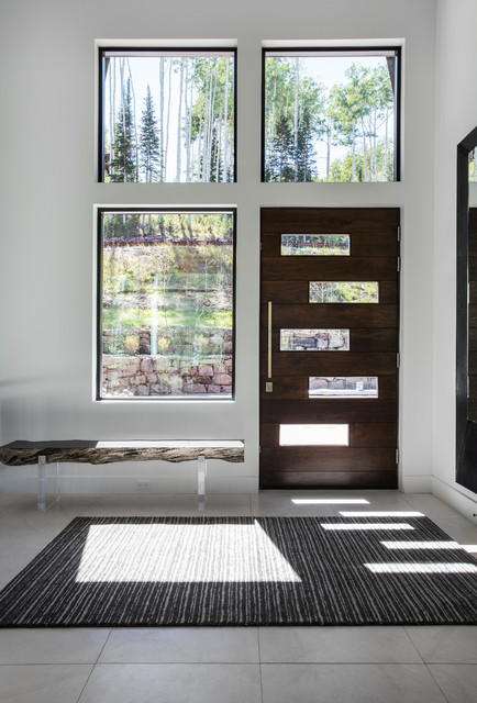 Jeld Wen Entry Doors Entry Contemporary With Area Rug Asymmetrical