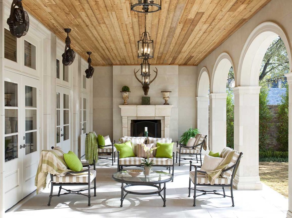 jessica mcclintock furniture patio traditional with arched wall openings arches cast stone cedar - Jessica Mcclintock Furniture