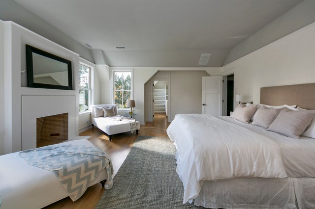 Jute Rugs Bedroom Contemporary with Bedroom Daybed Fireplace Gable Ceiling Grey Ceiling Grey Rug