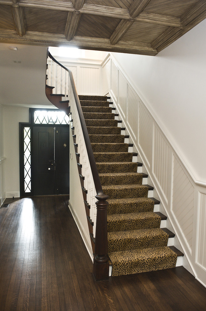 Kane Carpet Staircase with Pine Street Carpenters Staircase